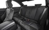 BMW M240i rear seats
