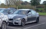 2014 BMW M3 spied UK testing