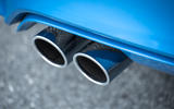 BMW M3 quad-exhaust
