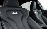 BMW M3 sports seats
