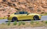 BMW M4 side profile
