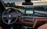 BMW M4 dashboard