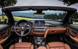 BMW M4 convertible interior