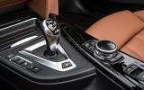 BMW M4 convertible DCT gearbox
