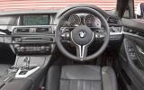 BMW M5 Competition Pack dashboard