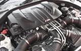 4.4-litre V8 BMW M5 engine