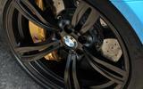 BMW M6 black alloy wheels