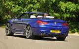 BMW M6 Convertible rear