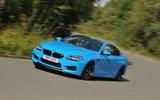 BMW M6 cornering