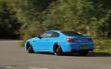 BMW M6 rear cornering