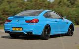 BMW M6 rear