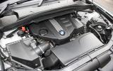 BMW X1 engine bay