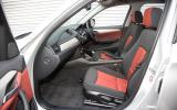 BMW X1 front seats