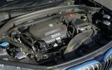 The 2.0-litre bi-turbo diesel engine in our BMW X1