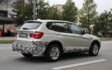BMW X3 facelift spotted - first pictures