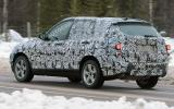 New BMW X3: first pics
