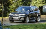 152mph BMW X3 xDrive35d M Sport