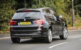 BMW X3 xDrive35d M Sport rear