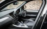 BMW X3 xDrive35d M Sport interior