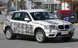 Next BMW X3 spied in testing