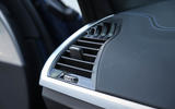 BMW X3 air vents