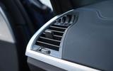 BMW X3 air vents