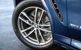 19in BMW X3 alloy wheels