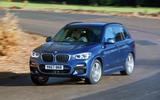 BMW X3 cornering