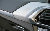 BMW X3 dashboard trim