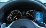 BMW X3 instrument cluster
