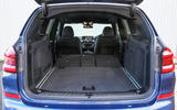 BMW X3 extended boot space