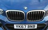 BMW X3 front kidney grille
