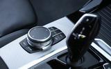 BMW X3 iDrive controller