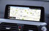 BMW X3 iDrive sat nav