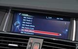 BMW X3 iDrive system