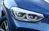 BMW X3 LED headlights