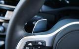 BMW X3 paddle shifter