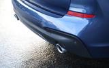BMW X3 rear bumper
