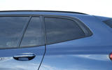 BMW X3 rear windows