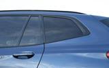 BMW X3 rear windows
