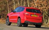BMW X3 rear