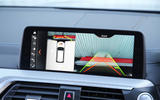 BMW X3 reversing camera