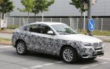 BMW X4 - latest spy pictures