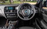 BMW X4 dashboard
