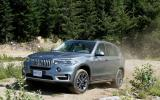 BMW X5 xDrive25d off-roading