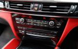 BMW X5 M's switchgear