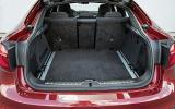 BMW X6 M50d boot space