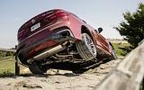 BMW X6 M50d twisting axles