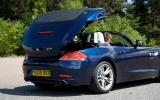 BMW Z4 electrically-operated roof