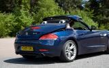 BMW Z4 rear quarter